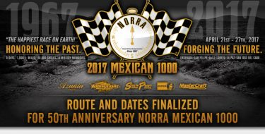 NORRA 2017 Mexican 1000 Finalized