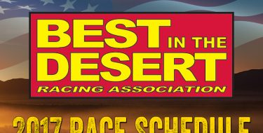 Best In The Desert Announces 2017 Race Schedule