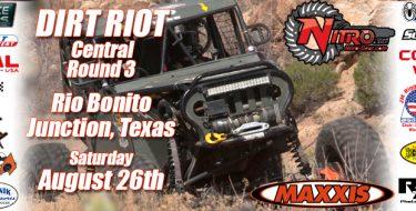 Dirt Riot Central Round 3 Rio Bonito Ranch, Junction, TX