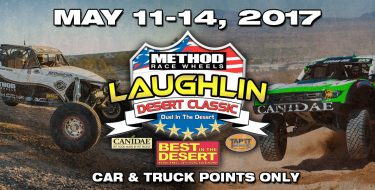 BITD METHOD RACE WHEELS LAUGHLIN DESERT CLASSIC presented by CANIDAE TAP IT